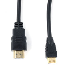 HDMI to Mini HDMI 5M 15 FT Gold Plated Cable Lead v1.4 Male to Male for HDTV DV 1080p High Speed(China)