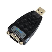 UTEK UT-882 1port USB2.0 to RS-232 Convertor High Speed USB 2.0 to Serial RS-232 DB-9 Converter ASIC chipset(China)
