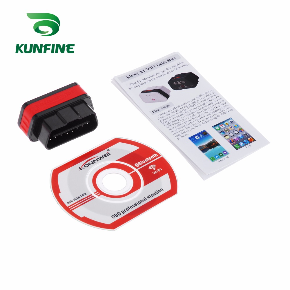 Auto Diagnostic Tool Car engine code Scanner Vehicle fault reader KF-A1184_8217