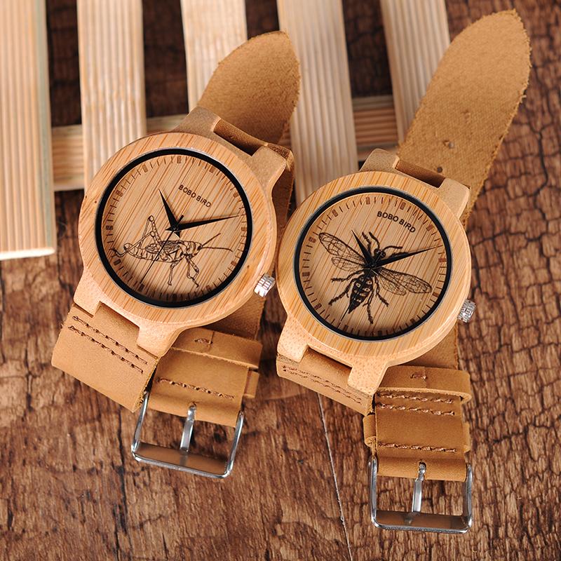 wooden men wrist watches for men bobo bird (19)