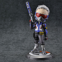 Action Figure OW Hero SOLDIER 76 Model Toys, pvc 16cm Game Figurine Peripherals for Kid Christmas Birthday Gift and Collection