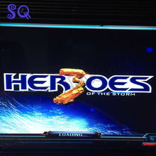 Heroes of the storm Newest 645 in 1 jamma arcade cabinet machine game board VGA / CGA output for LCD / CRT games multigame card(China)