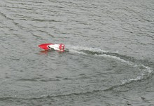 "High quality FT007 2.4G 4CH 20km/h High Speed Radio Control RC Boat Feilun FT007 ""VS"" FT0012 FT009 FT008(China)"