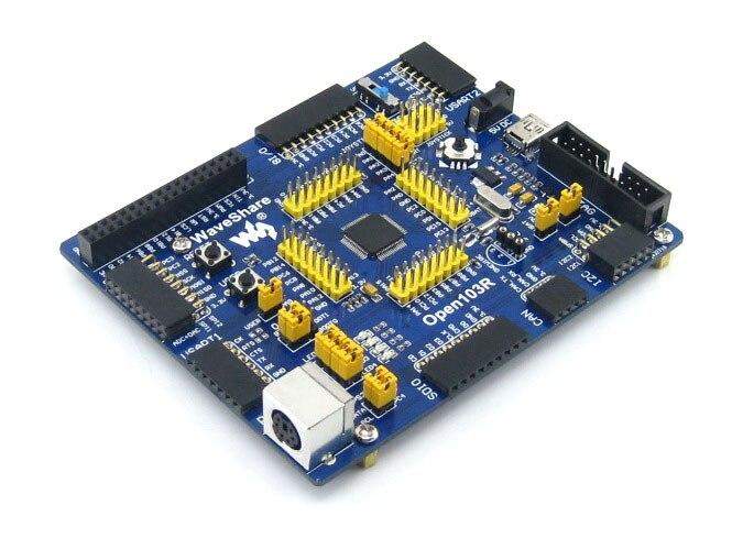 module Open103R Standard# STM32F1 Development Board STM32F103RCT6 STM32F103 STM32 ARM Cortex-M3 + PL2303 USB UART Module Kit<br>
