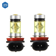 3000K/6000K Car Led Light H8 H11 9006 Light Bulb Fog Lamp Driving Light For Chevrolet Cruze Camaro Sonic Spark Fog Lamp Assembly