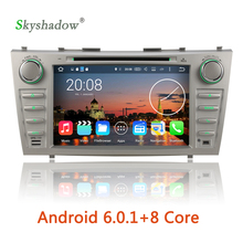 HD 1024*600 Android 6.0 Octa Core 2G RAM Car DVD Player RDS Radio GPS WiFi For Toyota Aurion Camry 2006 2007 2008 2009 2010 2011
