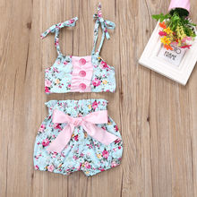Baby Swimwear New Kids Baby Girls 2pcs Tankini Bikini Set Swimwear Swimsuit Bathing Suit Beachwear
