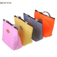 2017 New Fashion Portable Canvas Lunch Bag Thermal Food Picnic Lunch Bags for Women kids Cooler Lunch Box Bag Tote