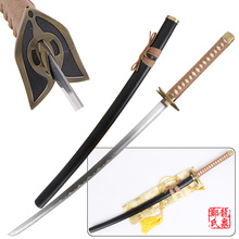 Free Shipping Replica Morimoto Rangiku Sword Bleach Anime Cosplay Haineko Steel Katana Xmas Decor Gift(China)