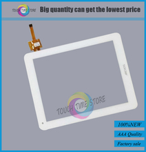 "white 8"" inch for Qilive 8QC Review tablet pc touch screen panel Digitizer Glass sensor replacement(China)"