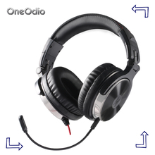 Oneodio Hifi Gaming Headset PS4 For Xbox one Gaming Headset Gamer For PC Over Ear DJ Headphone Hifi Stereo Studio Headphone DJ