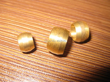 brass fitting olive, compression fitting oring, sleeve, 3/8mm ID brass olive for the compression fittings 100pcs/set