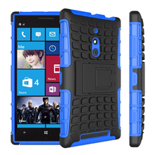Top Quality Rugged TPU Plastic Hybrid Heavy Duty Armor Phones Case For Nokia Lumia 830 Hard Shock Proof Back Cover for Lumia 830(China)
