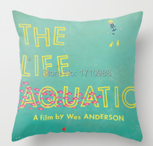 Free shipping The Life Aquatic (two sides) Custom  Pillow Cases for 12x12 14x14 16x16 18x18  20x20 24x24 inch