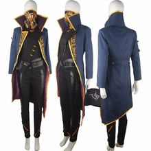 Dishonored 2 Emily Kaldwin Halloween Cosplay Costume  Action Adventure Outfit Deluxe Unique Surprise Party Gift