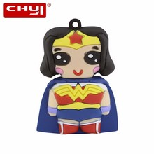 CHYI Cartoon Beauty Warrior USB Flash Drive Pen Drive Sailor Moon Shaped Memory Stick 4GB 8GB 16GB 32GB 64GB Pendrive For Gift(China)