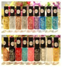 20 Colors 10ml Nail Art Drawing Pen Gel Candy Color Nail Enamel Polish UV Led Nail Polish Design(China)