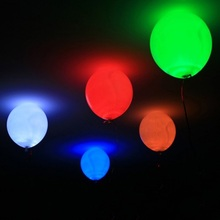 FGHGF LED Balloon Light Ball Latex Multicolor Helium Balloons Christmas Halloween Decoration Wedding Birthday Party Randomly