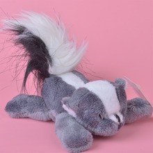 3 Pcs Skunks Plush Fridge Magnet Toy, Kids Child Doll Gift Free Shipping(China)