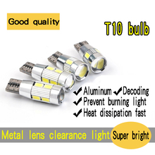 4PCS special car auto LED bulb T10 LED clearance lights small lights super bright day light daytime running lights
