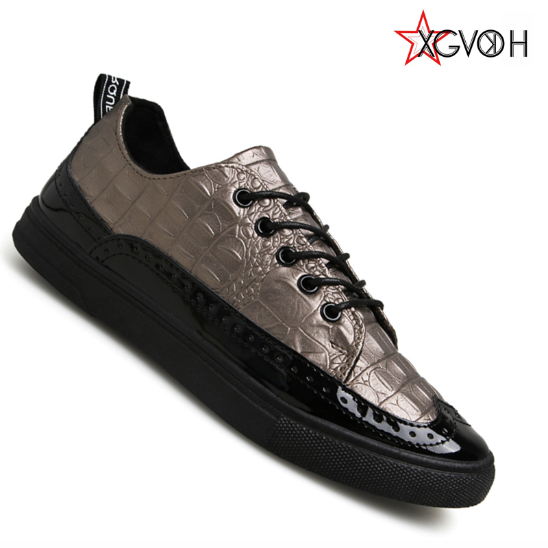 hot sale spring autumn Men Fashion Breathable Casual Shoes PU Comfortable lace up outdoor men Shoes Flats  B17<br><br>Aliexpress