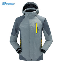 Dropshipping new winter ski snow classic jackets 2 layer outdoor windproof waterproof famous Windbreaker jacket for mens(China)