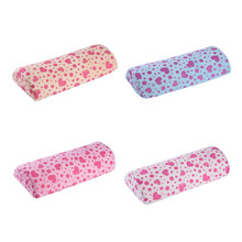 1pcs Soft Nail Leather Hand Rest Cushion Pillow New Soft Pink Nail Art Small Hand Rests Pillow Cushion High Quality