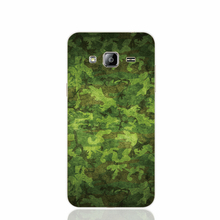24153 Military Camouflage cell phone case cover for Samsung Galaxy J1 MINI J2 J3 J7 ON5 ON7 J120F 2016