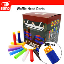 Waffle Darts 200pcs 7.2cm Refill for Nerf Series Blasters Kid Toy Gun(China)