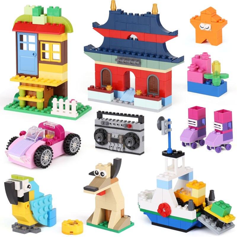 Lepin 42006 612Pcs Creative Series LegoINGly 10702 Model Sets Building Nano Blocks  Bricks Funny Toys For Kids boys <br>