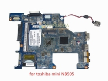 PBU00 LA-6851P K000126160 motherboard for toshiba satellite NB500 NB505 laptop main board DDR3 Intel Atom N455 CPU(China)