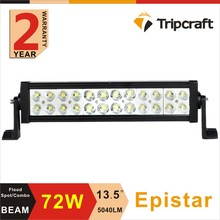 Big Discount 12 Inch 72W Epista r LED Light Bar for Off Road Work Driving Offroad Boat Car Truck 4x4 SUV ATV Spot Flood Combo