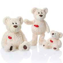 2017 New Lovely Teddy Bear Plush Toys Soft Comfort Love Heart Bear Carebear Dolls Lovers Kids Friends Gift 30/40cm