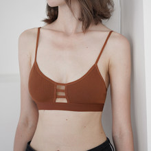 e1c16b8cb0 Wriufred Seamless Low Back Breathable Wire Free Comfortable Bra Without  Sponge Underwear Female Bralette Vest Sleep Bras