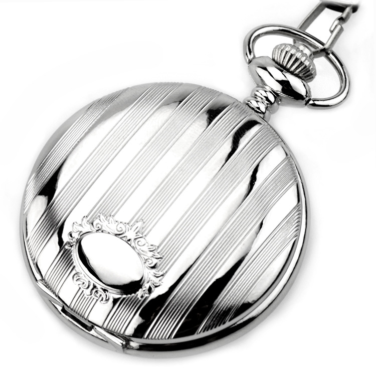 Fashion-Modern-High-Quality-Silver-Quartz-Pocket-Watch-With-Pendant-Chain-Men-Womens-Watches-Gift