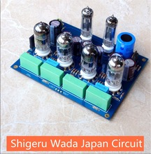 2017 New Nobsound HiFi Vacuum 6Z4 12AU7 Tube Pre-Amplifier Audio Preamp Board Shigeru Wada Japan Circuit(China)
