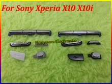 HAOYUAN.P.W Original Side Buttons&Keypad Housing Case Cover For Sony Ericsson Xperia X10 X10i(China)