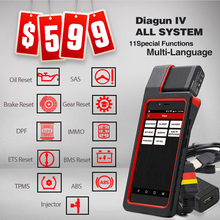 Launch X431 Diagun IV Diagnostic Tool 2 year Free Update VIA Wifi/Bluetooth with 25 gifts X431 Diagun IV better than diagun iii(China)