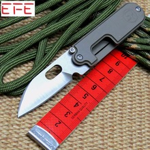 EFE Bean Pocket Knife S35VN Blade Titanium Handle Survival Tactical Knives Camping Outdoor Tools EDC Hand Tool purpose knife