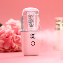 Mini Portable Humidifier Car Aroma Diffuser Ultrasonic Humidifier Air Diffusers With Negative Ions Particles Rechargeable Use