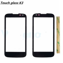 Buy Vecmnoday 2Pcs/lot 4.5'' Replacement LCD Front Touch Screen Glass Outer Lens Cover LG K3 LTE K100 K100DS LS450 Logo for $6.62 in AliExpress store
