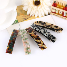Classical Elegant Women's Hair Clip Cellulose Acetate Barrette Perfect gift FREE SHIPPING FR109(China)