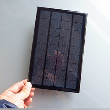 9V 3W 330mA Mini monocrystalline polycrystalline solar battery Panel charge battery(China)