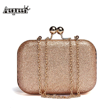 AEQUEEN Fashion Elegant Women Evening Clutch Bag Messenger Shoulder Bags Party Bags Wedding Chain Day Clutches Case Box Handbag