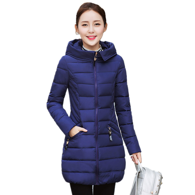 2017 New winter jacket women long coat parkas thickening Female Warm Clothes Hooded Down Jacket Woman Warm Down CoatОдежда и ак�е��уары<br><br><br>Aliexpress