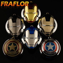 Hot Sale Captain America Ironman ar Air Freshener Car Outlet Perfume Fragrance Luxury Car Perfumes Brands Cars Flavoring Scent(China)