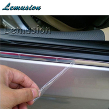 Car Sticker Chrome Decor Strip For Mercedes W211 W203 W204 W210 W205 W212 W220 AMG For Cadillac CTS SRX ATS Accessories(China)