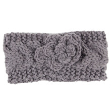 Headband Woman Accessories Lowest Price  Knit Headband Crochet Winter Warmer Hairband Hair Band Headwrap diademas para mujer