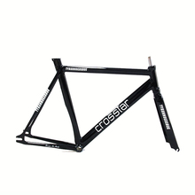 700C bike frame 54cm 58cm 60cm TYRANS T1 FRAMESET TRACK BIKE frame and fork fixed gear frameset fixie bike velo frameset BICYCLE