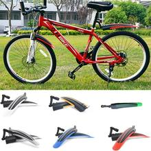 Hot Sale Bicycle Mudguard Mountain Bike Fenders Set Mud Guards Bicycle Mudguard Wings For Bicycle Front/Rear Fenders(China)